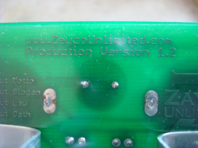 A picture of the Version 1.2 copper.